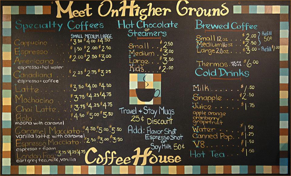 analysis of tim s coffee shop